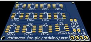 database for pic arduino and arm microntrller