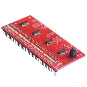 32-bit serial-in parallel-out shift register module using 74HC595