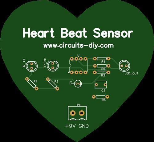 Heart Beat Sensor Circuit