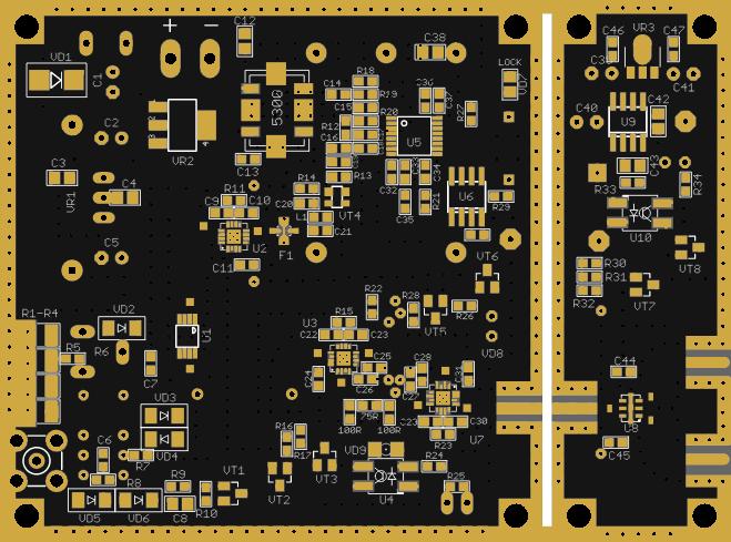 TRANSVERTER 5760MHZ MINI4 - Share Project - PCBWay