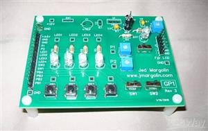 GP1 -  Board for demonstrating how to use an MSP430G2xxx