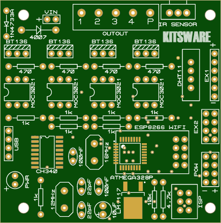 IoT Home Automation - Share Project - PCBWay
