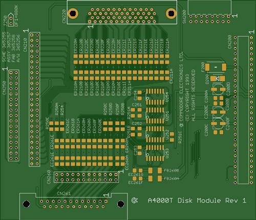 Amiga 4000 Tower Disk Module