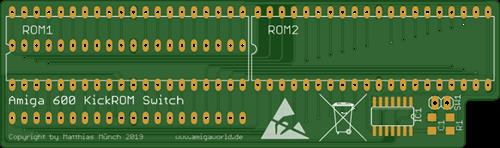Amiga 600 KickROM Switch