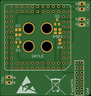 Amiga 1200 Gayle Adapter
