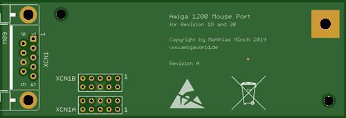 Amiga 1200 Mouse Port