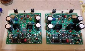 Audio amplifier Nikitina + \ Аудио усилитель Никитина +