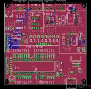 Microchip Communication PCB