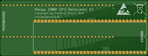 Amiga 1000 CPU Relocator V1