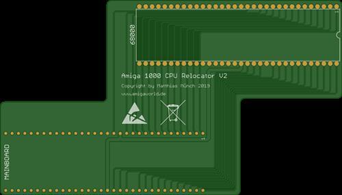Amiga 1000 CPU Relocator V2