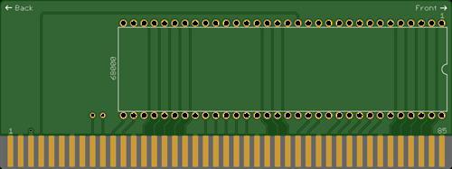 Amiga 2000 CPU Relocator V1