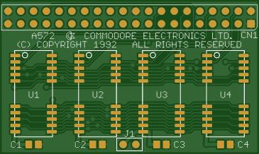 Commodore A572 RAM Expansion