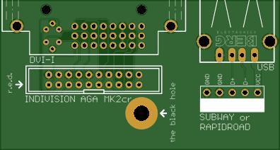 Amiga 1200 Expansion Modul - DVI/USB