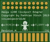 Amiga 1200 Clockport Adapter