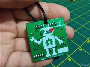 Badge - Aprenda Soldar (Learn to Solder)