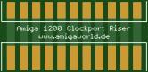 Amiga 1200 Clockport Riser