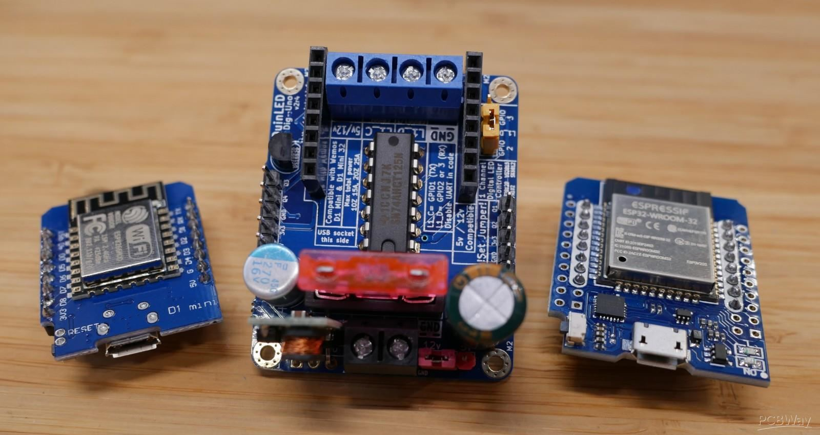 QuinLED-Dig-Uno - Share Project - PCBWay