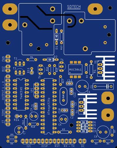 Digital Voltage Stabilizer Controller