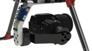 3-axis BLDC Camera Gimbal with Image Tracking