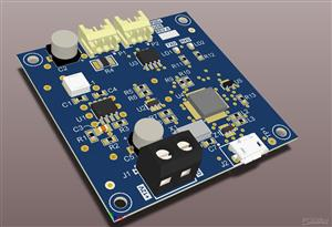 USB to 14230 interface board for a medical instrument.