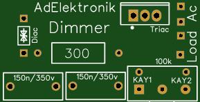Ac load Dimmer