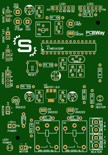 SeraVide - Arduino based sous vide cooker