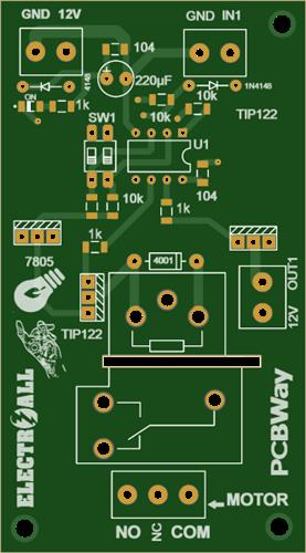MOTOR CONTROL(220VAC-15A) WITH ATtiny85