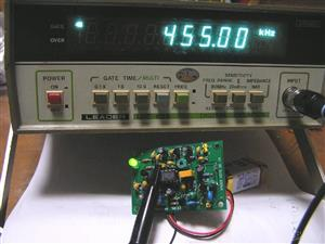 455kHz marker for radio builder