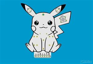 Pikachu Printed Circuit Board