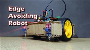 How to Make Arduino Based Edge Avoiding Robot