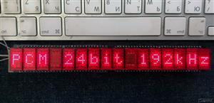 Led display DAC on ALS340 for Arduino