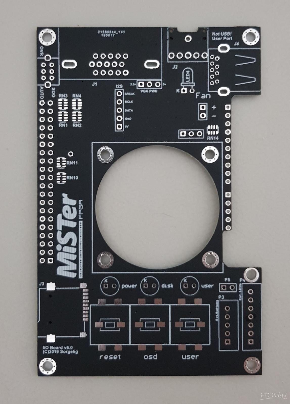 I/O Board v6 0 for MiSTer - Share Project - PCBWay