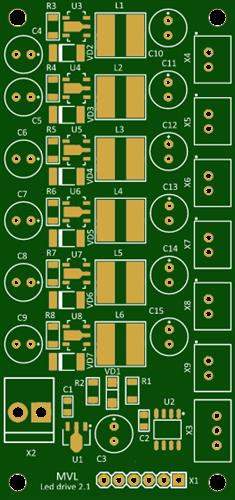 6 channel led driver