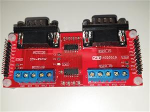 Dual channel RS232 adapter