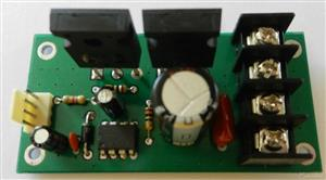 A Powerful 30A DC Motor Driver using Power Mosfets