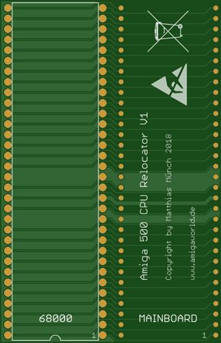 Amiga 500 CPU Relocator V1