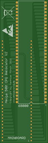 Amiga 500 CPU Relocator V2