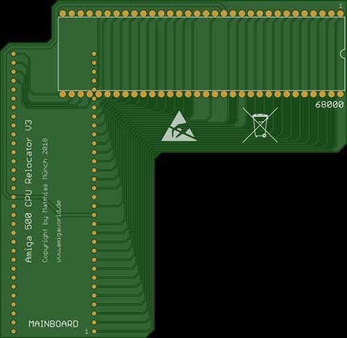 Amiga 500 CPU Relocator V3