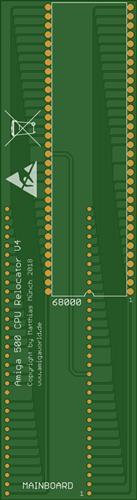Amiga 500 CPU Relocator V4
