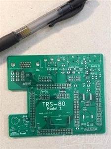 Retro TRS80 Model 1 computer - prototype #1
