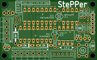 StePPer driver for model railroads