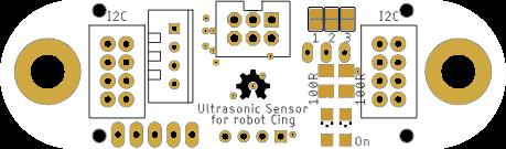 I2C Ultrasonic sensor with compensation