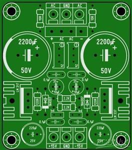 Power  module lm 317/337