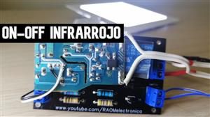 Interruptor Infrarrojo ON-OFF 220 V AC
