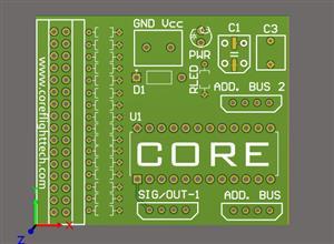 16 Pin X-Plane 11 SimVim Input Board