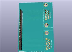 Sub D9 Breakout Board