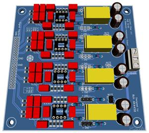 Filter for AK4458 / AK4468 DAC