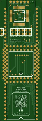 Amiga DIL64toPLCC68