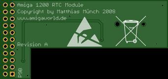 Amiga 1200 RTC Module