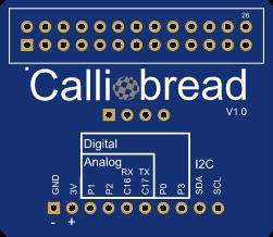 Calliope Mini Breadboardadapter